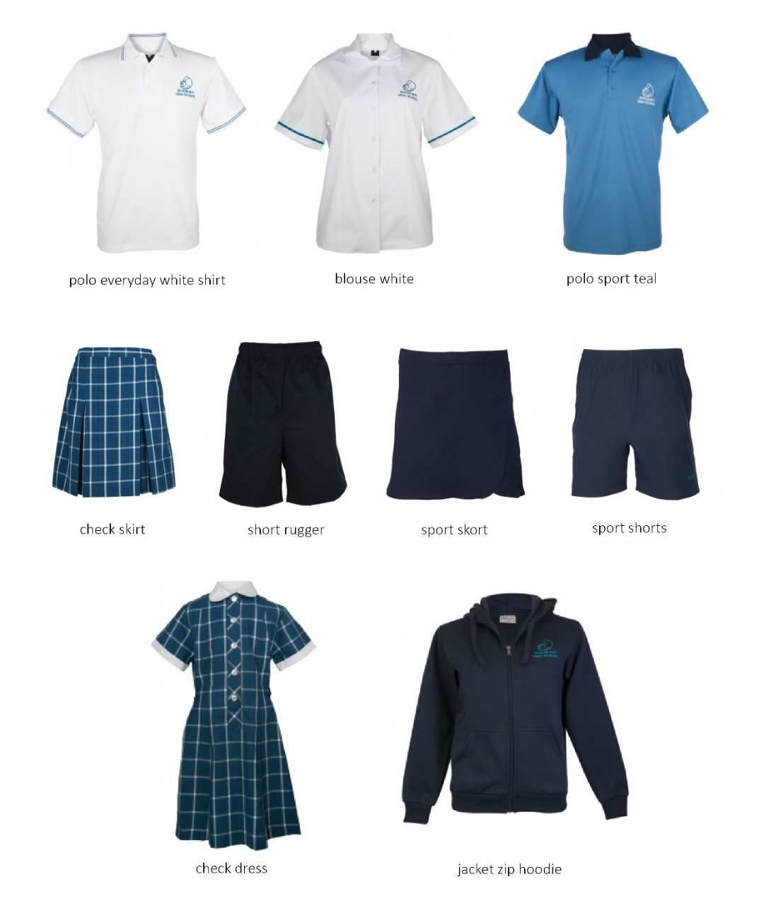 Picture of Byron Bay High School uniforms
