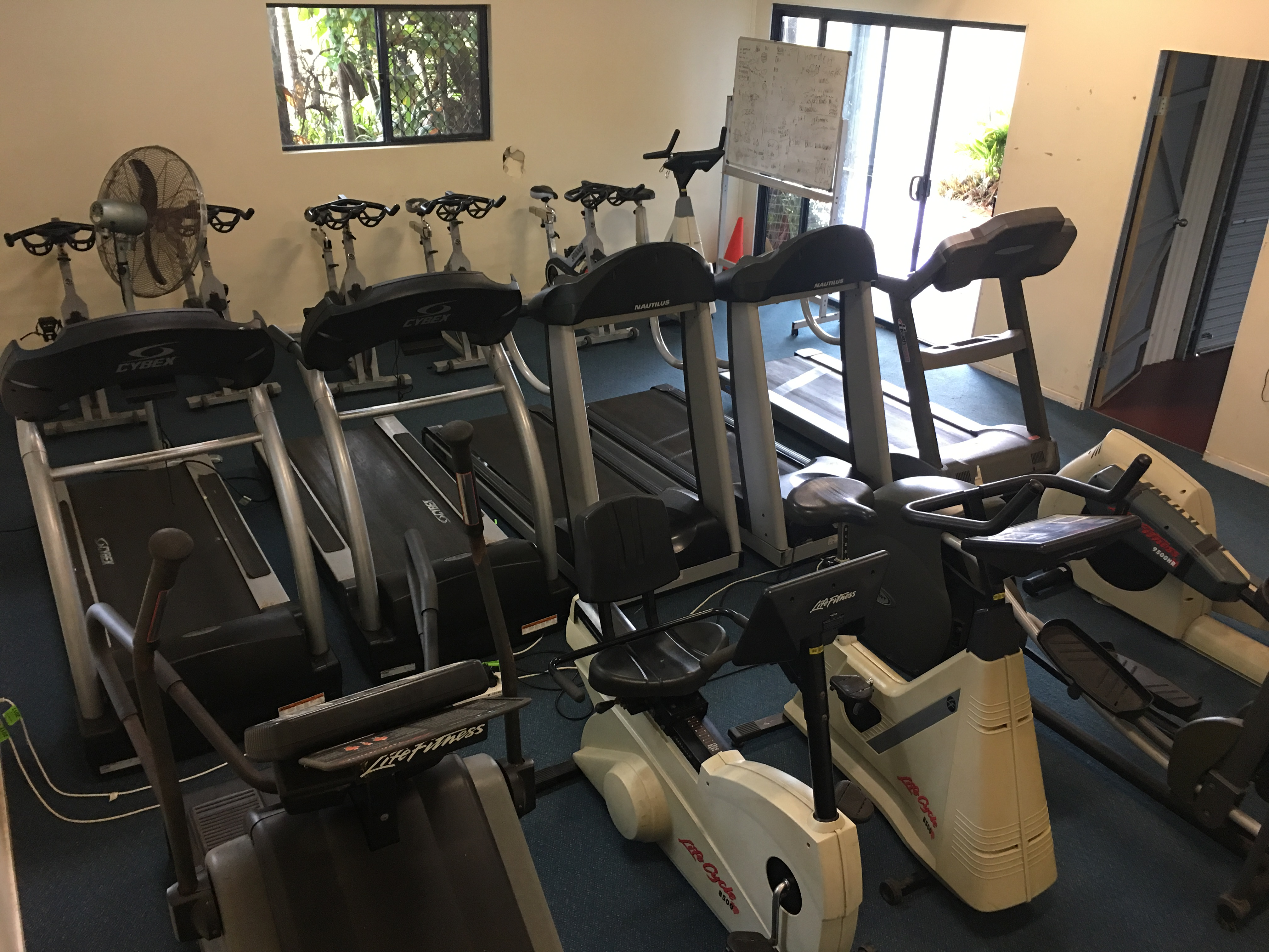 School Gym - Cardio Room