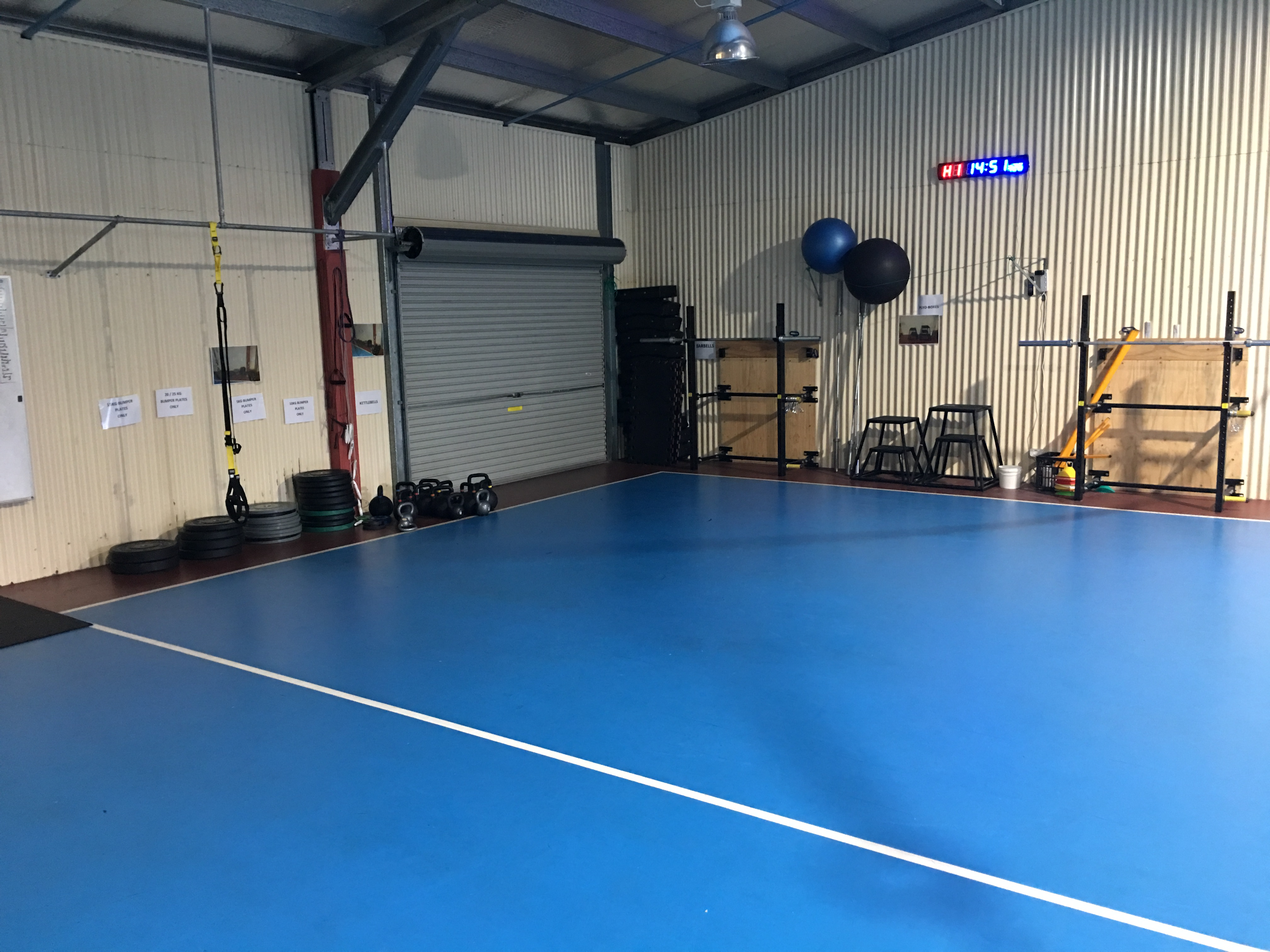 School Gym - Circuit Area 1