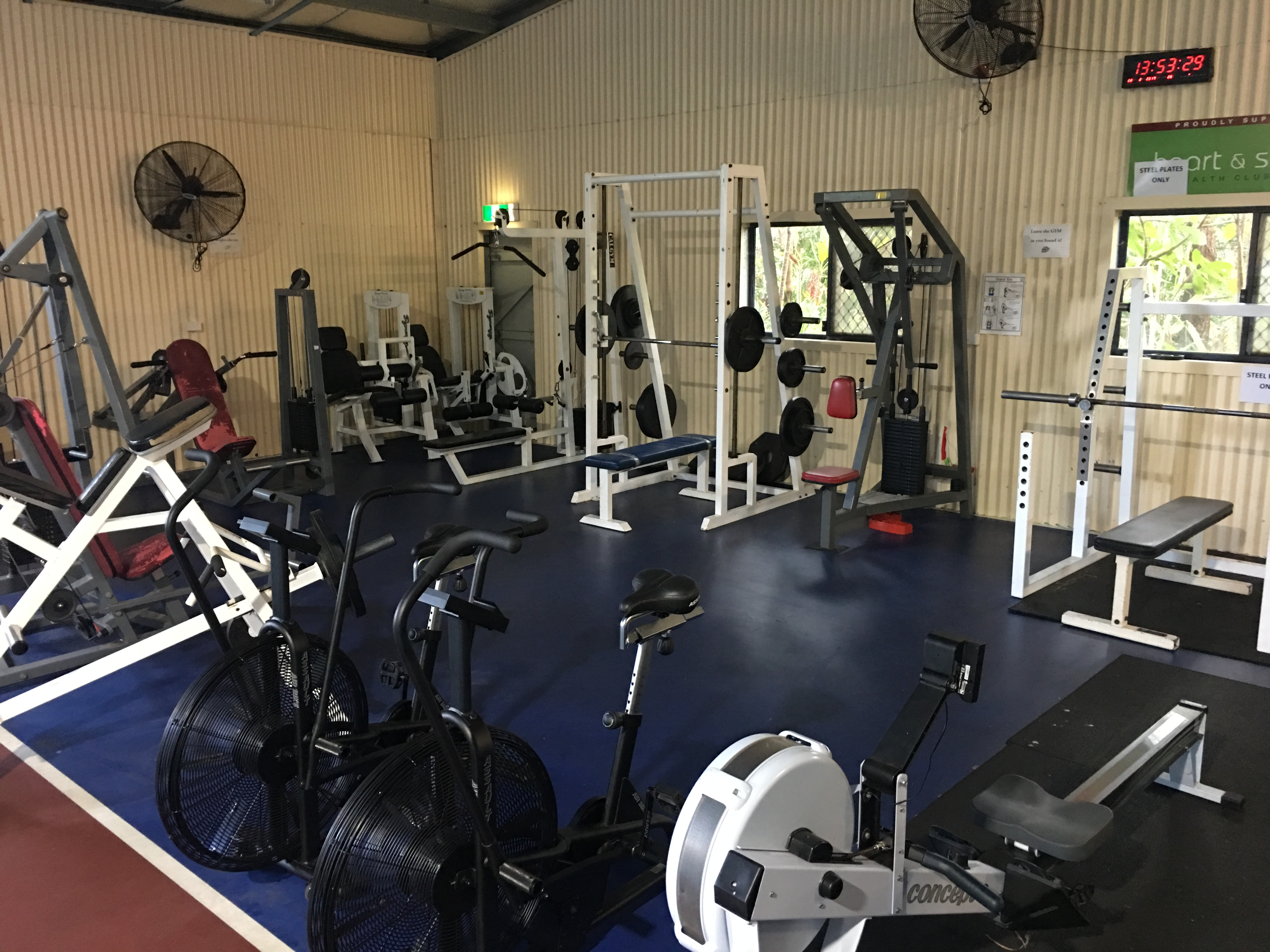 School Gym - Resistance Training Area 2